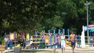 Lake Nipissing Beachfront Playground